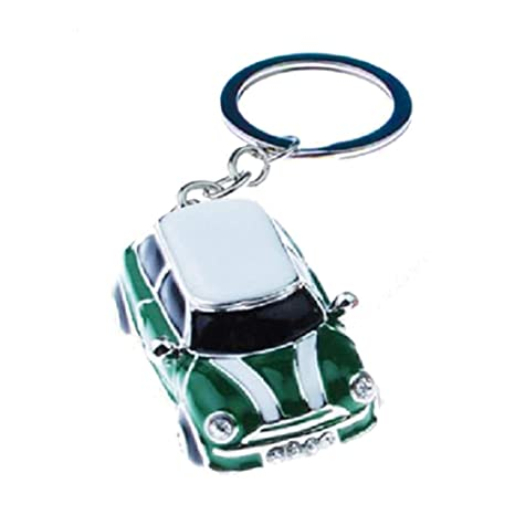 Llavero Mini Cooper Color Verde: Amazon.es: Equipaje