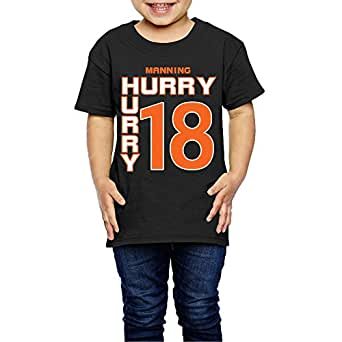 Ak79 children 2 6 years old boys and girls peyton broncos for 7 year old boy shirt size