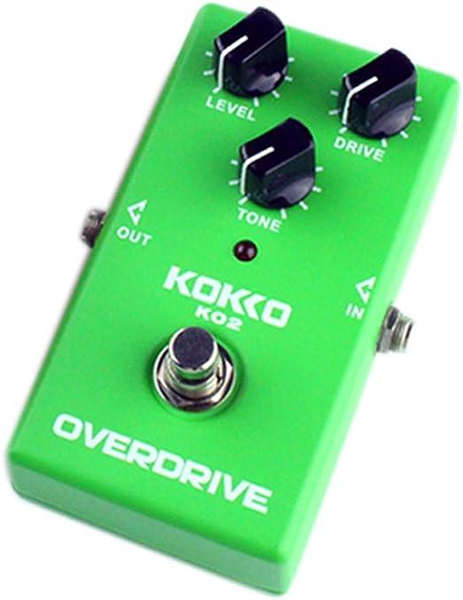 Soulpoint KO2 Overdrive - Pedales para Guitarra eléctrica: Amazon ...