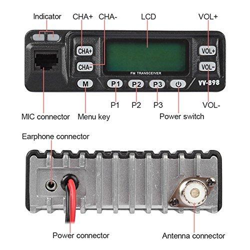 Amazoncom LEIXEN LX VV898 Dual Band VHFUHF 136174400470MHz