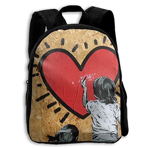 AACC-Bag Children's Bags Murals Boys and Girls Backpack¡¢600D Plain Oxford Coth -