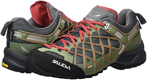 tex Salewa Vert Chaussures aimant Femme Wildfire Corail Chaud S Gore Wf nFXArqFp