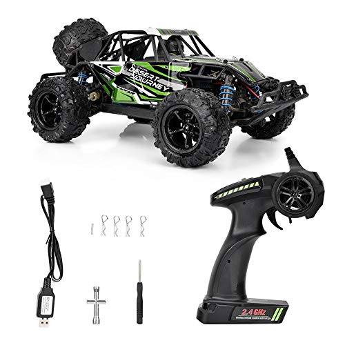 d Electric, 2.4G 1:18 Brushless Remote Control Crawler Racing Car RC Toy for Kids and Adults(Black) ()