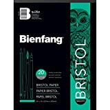 drawing smooth paper - Bienfang Bristol 9-Inch by 12-Inch Paper Pad, Smooth Surface, 20 Sheets