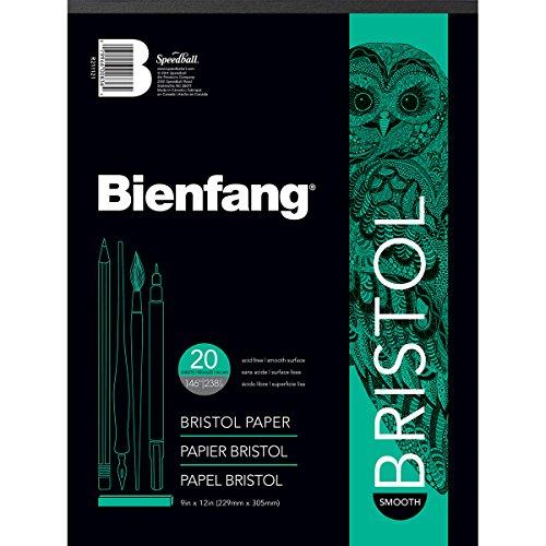 Bienfang Bristol Paper Pad, Smooth Surface