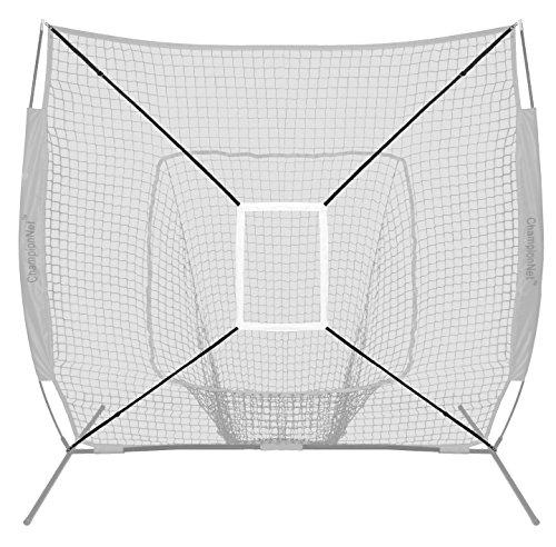 ChampionNet Strike Target Zone Attachment fits Any 7 x 7 Baseball/Softball Hitting Net by ChampionNet