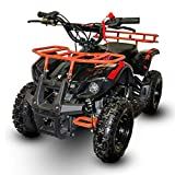 V-Fire Sonora 40CC Gas ATV for Kids 4-Stroke Kids Four Wheeler Quads for Kids - Gas Powered ATV for Kids - Runs to up 24mph and Supports up to 140 lbs (Green)