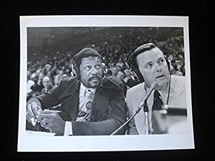 1972 Abc Black And White 9x7 Photograph Bill Russell & Keith Jackson at Amazon's Sports Collectibles Store