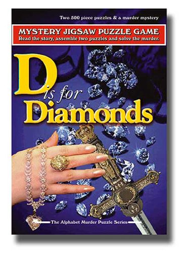 (TDC Games Alphabet Mystery Puzzle - D Is For Diamonds)