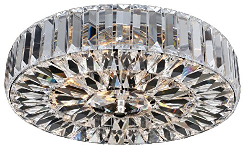 Allegri 025741-010-FR001 Julien 4-Light Flush Mount