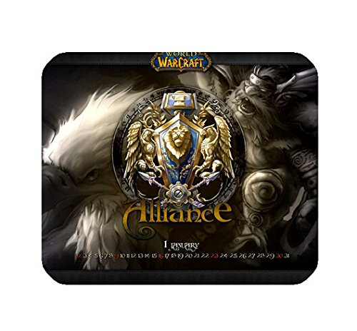 Custom WOW Mouse Pad Gaming Mousepad Dust and Stain Resistant