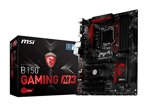 Msi Channel Dual (MSI Gaming Intel Skylake B150 LGA 1151 DDR4 USB 3.1 ATX Motherboard (B150 Gaming M3))