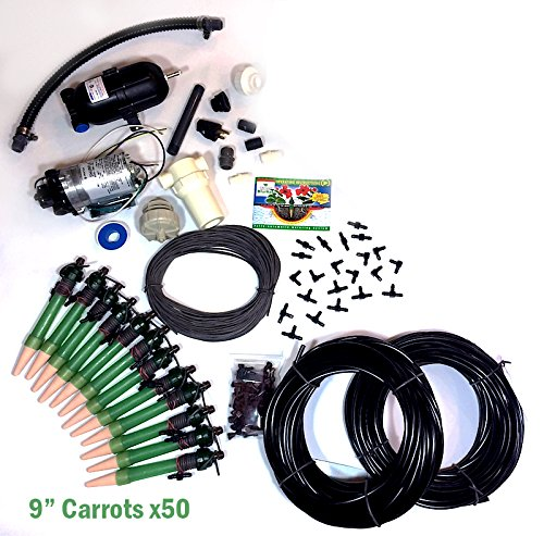 Blumat 50-plant Pump System, Only 9'' Carrots by Blumat Systems