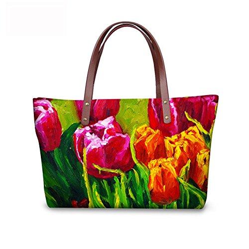 Casual Tote FancyPrint Handbags C8wc0156al Bages Print Fruit Women qXX1R