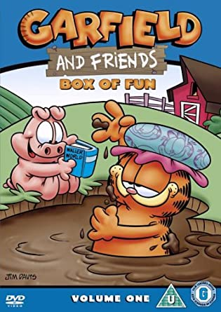 Garfield And Friends Volume 1 Box Of Fun Dvd Amazon Co Uk Garfield And Friends Dvd Blu Ray