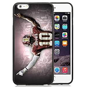 American Football Player Robert Griffin Iii Number-10 07 Black Abstract iPhone 6 plus 5.5 Inch TPU Phone Case