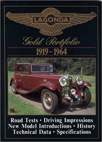 Book Lagonda Gold Portfolio 1919-1964 (Brooklands Books Road Test Series)