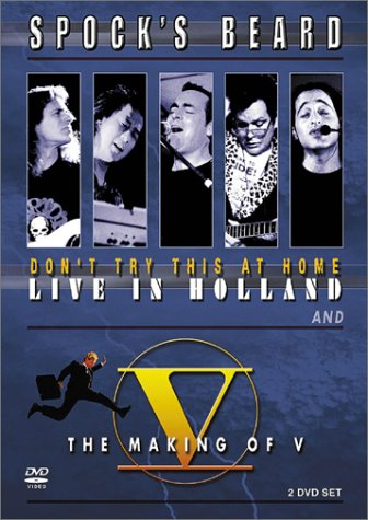 DVD : Spock's Beard - Don't Try This Home: Live / Making Of V (With CD, 3PC)
