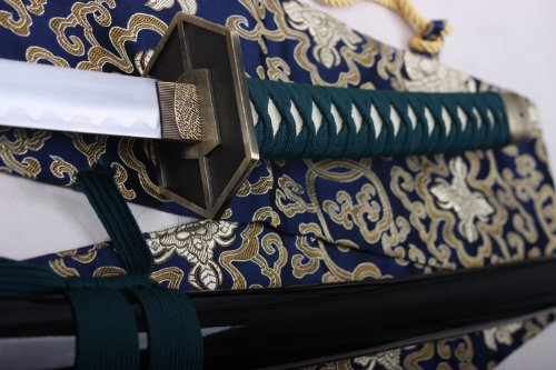 "S4184 ANIME BLEACH 5TH DIVISION CAPTAIN KYOUKA SUIGETSU AIZEN SOUSUKE SWORD 41"""