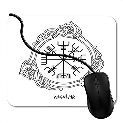 Gaming Mouse Pad Red Snake Native Woman Skull Indian Tribal Face Ancient Bride Creepy Culture Office Nonslip Rubber Backing Mousepad Mouse Mat 2F8826 ()