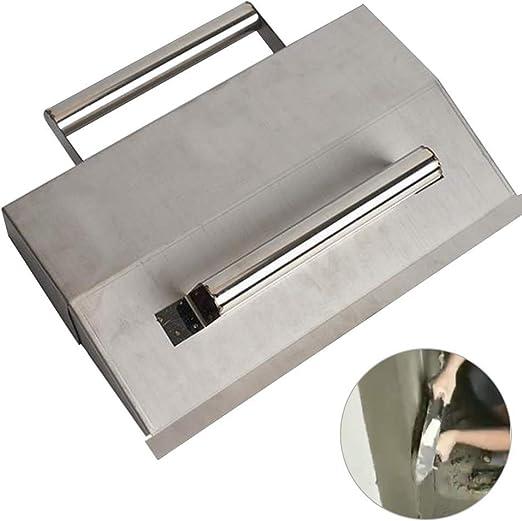 Water /& Wood 4 Width Nonslip Handle Carbon Steel Putty Trowel Scraper Spatula Tool