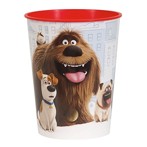16oz The Secret Life of Pets Plastic Cups, 12ct by Unique