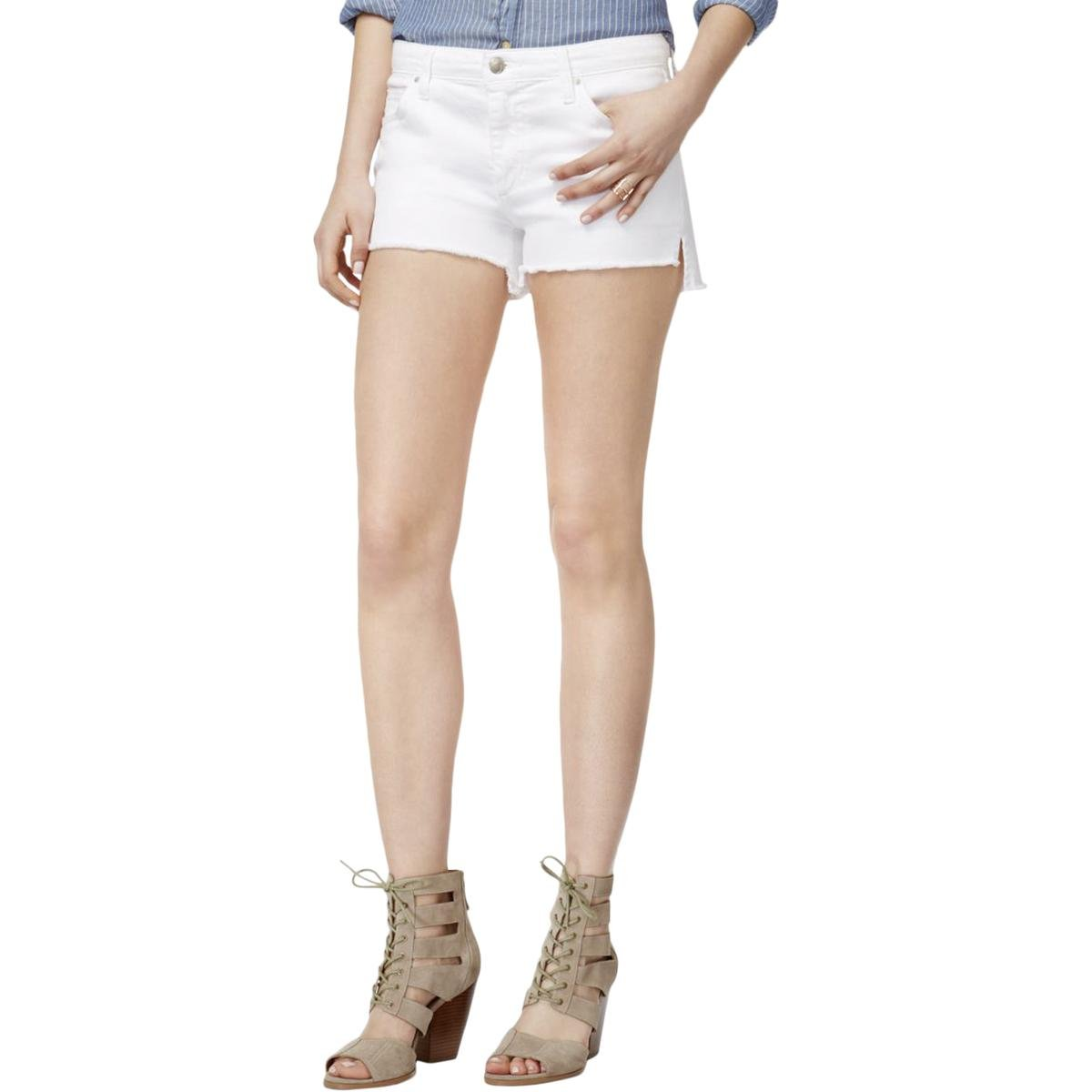 Joe's Jeans Women's High Low Midrise Cut Off Jean Short, Field, 29
