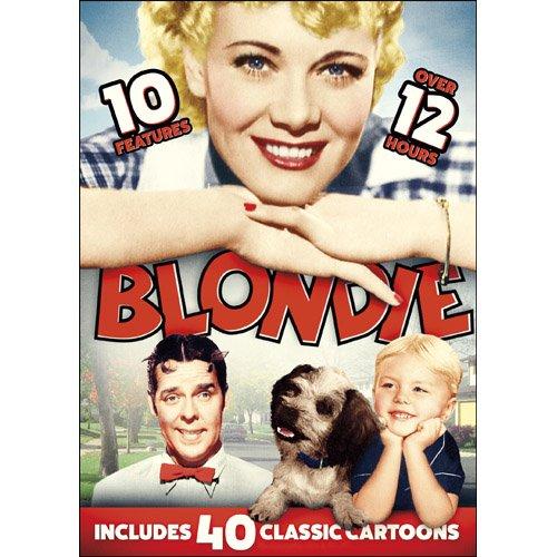 10 Blondie Features w/Bonus Cartoons