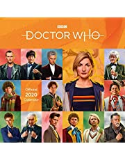 Doctor Who Classic Edition 2020 Calendar - Official Square Wall Format Calendar