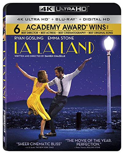 4K Blu-ray : La La Land (With Blu-Ray, Ultraviolet Digital Copy, 4K Mastering, , Dolby)