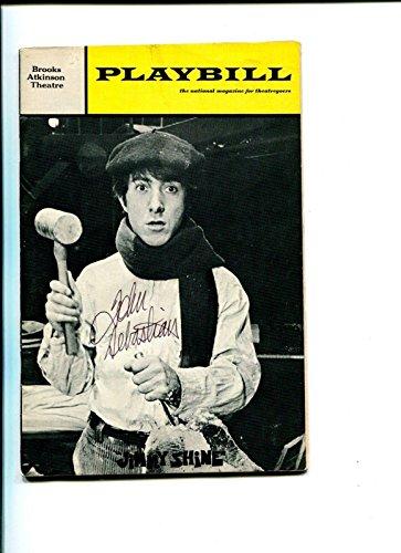 John Sebastian Rock & Roll HOF Composer Jimmy Shine Signed Autograph Playbill -