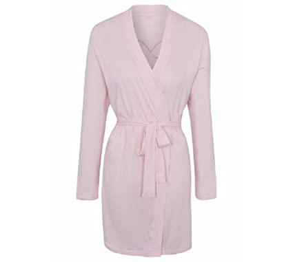 George Pink  Team Bride  Bridesmaid Bridal Hen Party Dressing Gown Wrap Robe  (16 6a8d872ad