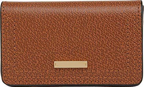 (Lodis Accessories Women's Stephanie Under Lock & Key Mini Card Case Chestnut One)