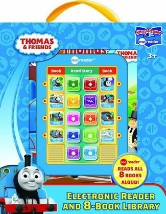 Thomas & Friends Me Electronic Reader and 8-Book Library (Electronic Book Reader For Kids)