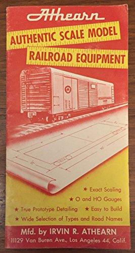 l Railroad Equipment (Athearn Parts)