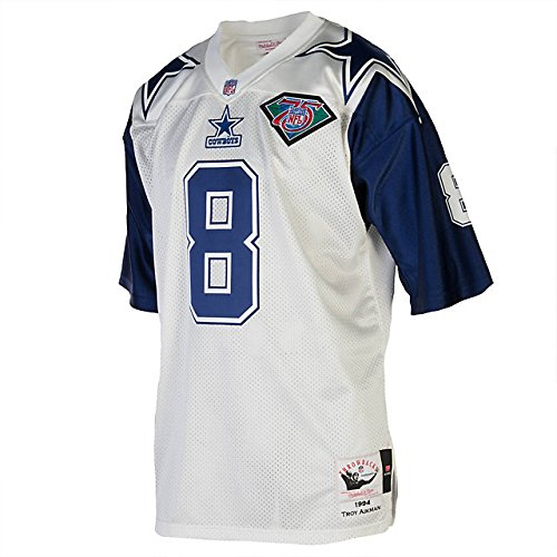 the best attitude b3f3e 82656 Amazon.com : Dallas Cowboys Mitchell & Ness 1994 Aikman ...