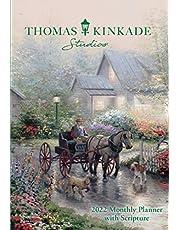 Thomas Kinkade Studios 2022 Monthly Pocket Planner Calendar with Scripture