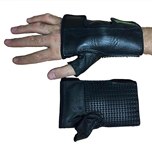 (Active Hands Push Gloves, Quad Cuffs, Wheelchair Gloves (Small))