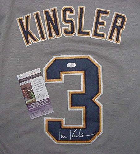 Ian-Kinsler-Detroit-Tigers-Autographed-Grey-3-Jersey-JSA-COA