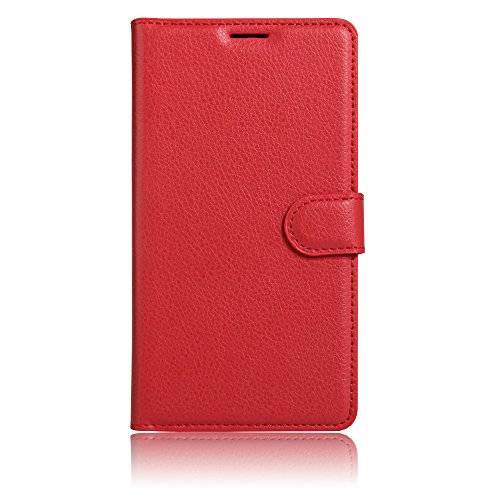 OFU® Para Alcatel Pixi 4(6) 4G 9001X Funda,Dual Layer PC And TPU Hybrid Card Carry Pocket Wallet Slot,Cartera Cuero Funda de Piel Wallet Case para Alcatel Pixi 4(6) 4G 9001X Carcasa Flip Case Cover