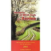 VACANCES ET WEEK-END À LA FERME 2002