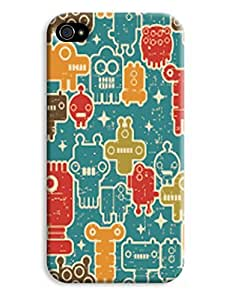Funky Faces Case for your iPhone 4/4s