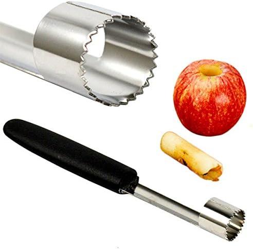 Removedor de semilla de Núcleo de Frutas Apple Pear Corer Slicer Cocina Herramienta De Acero Inoxidable