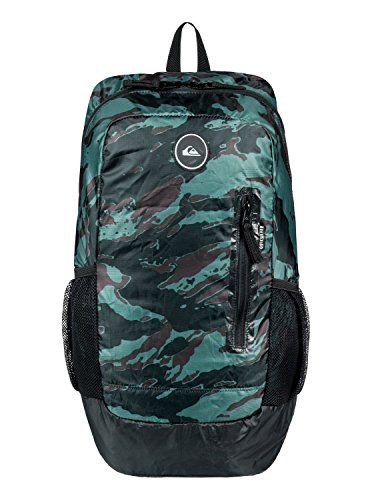 (Quiksilver Men's OCTO Packable Backpack, dark forest, 1SZ)