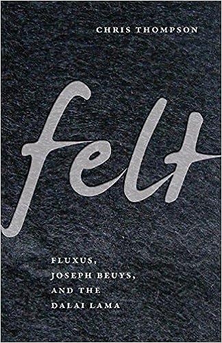 Amazon com: Felt: Fluxus, Joseph Beuys, and the Dalai Lama