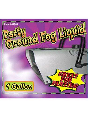 Forum Novelties Ground Fog Liquid - 1 Gallon White