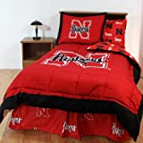 College Covers Nebraska Cornhuskers Bed in a Bag King - With Team Colored Sheets