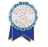 Pack of 250 Student of the Month Ribbon Lapel Pins