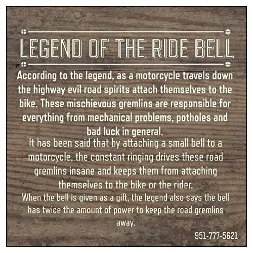 DELUXE BELLS Motorcycle Lady Rider