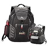 Prairie View A&M High Sierra Big Wig Black Compu Backpack 'Official Logo'